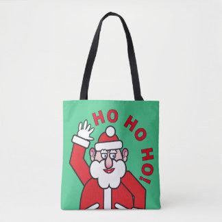 Christmas Santa Claus HO HO HO! 04.2 Tote Bag
