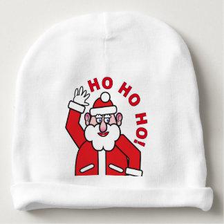 Christmas Santa Claus HO HO HO! 08.2 Baby Beanie