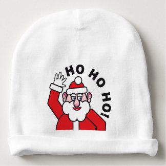 Christmas Santa Claus HO HO HO! 08 Baby Beanie