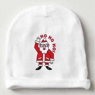 Christmas Santa Claus HO HO HO! 2.0 Baby Beanie