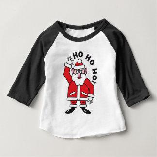Christmas Santa Claus HO HO HO! 3.0 Baby T-Shirt