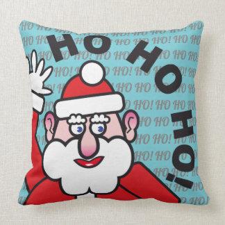 Christmas Santa Claus HO HO HO! 3.7.3 Throw Pillow