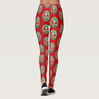 Christmas Santa Claus HO HO HO! 4.0 Leggings