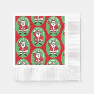 Christmas Santa Claus HO HO HO! 4.0 Paper Napkins