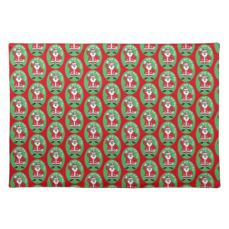 Christmas Santa Claus HO HO HO! 4.0 Placemat