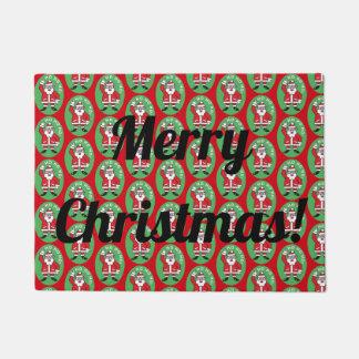 Christmas Santa Claus HO HO HO! 4.0.T Doormat