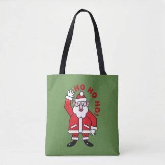 Christmas Santa Claus HO HO HO! Tote Bag