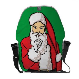 Christmas Santa Claus Messenger Bags