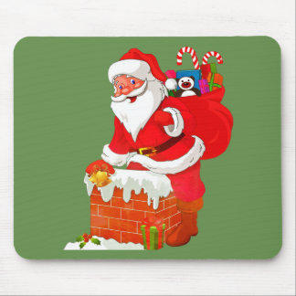 Christmas Santa Claus Mousepad