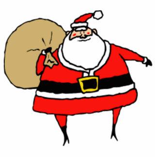 Christmas Santa Claus Acrylic Cut Out