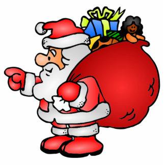 Christmas Santa Claus Photo Cut Out
