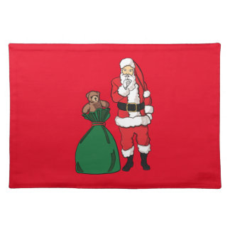 Christmas Santa Claus Placemat