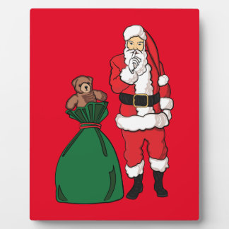 Christmas Santa Claus Plaque