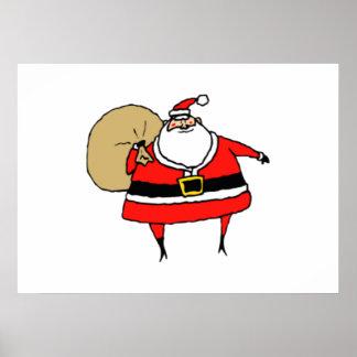 Christmas Santa Claus Poster