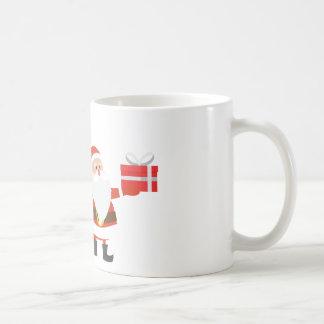 Christmas Santa Claus Presents Gift Cute Cartoon Coffee Mug