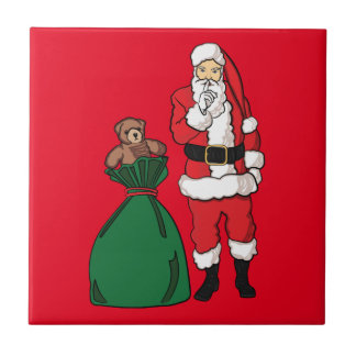 Christmas Santa Claus Tile