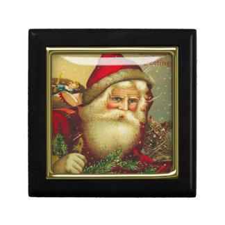 christmas santa gift box