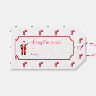 Christmas Santa Gift Tag