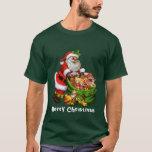 Christmas Santa Holiday mens t-shirt