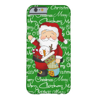 Christmas Santa iPhone 6 barely there case