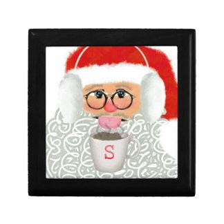 Christmas Santa jewelry box
