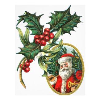 Christmas Santa Customized Letterhead