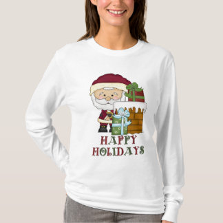 Christmas santa Long Sleeve Nano t-shirt
