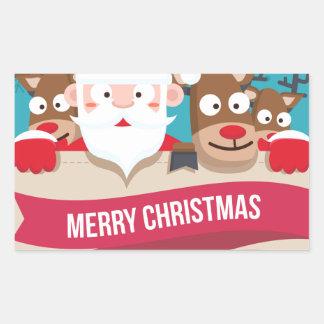 Christmas Santa Reindeer Cute Cartoon Gift