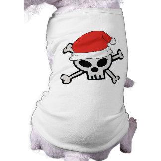 Christmas Santa Skull Shirt