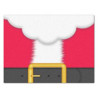 Christmas Santa suit tissue paper