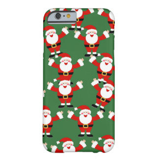 Christmas Santa Wallpaper Barely There iPhone 6 Case