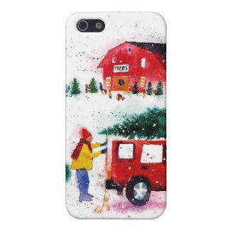 Christmas Scene iPhone 5 Covers