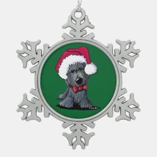 Christmas Scottie Ornament