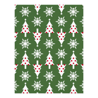Christmas Scrapbook Paper Letterhead