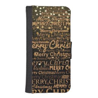 Christmas Season iPhone SE/5/5s Wallet Case