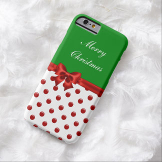 Christmas Seasonal Barely There iPhone 6 Case