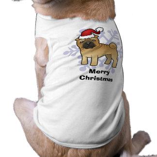Christmas Shar Pei Doggie Tshirt