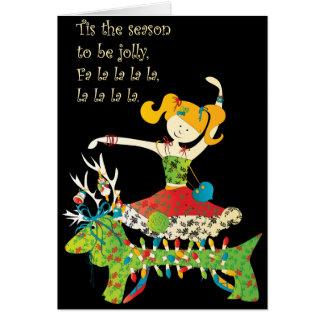 Christmas Share the Jolly Card