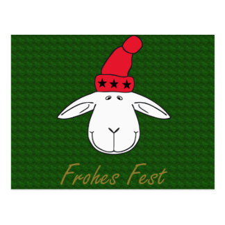 Christmas sheep Josef glad celebration Postcard