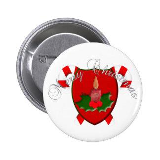 Christmas Shield Button