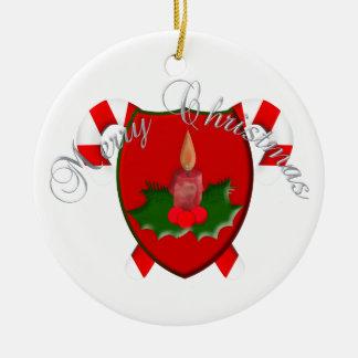 Christmas Shield Ornament