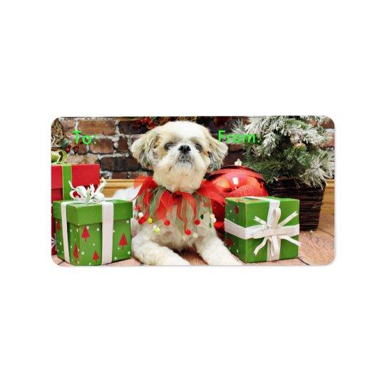 Christmas - Shih Tzu - Bailey