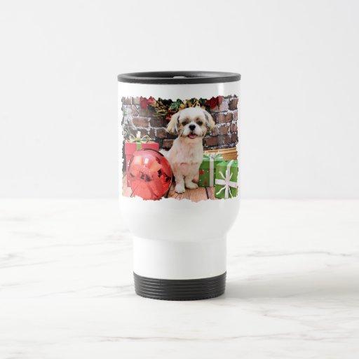 Christmas - Shih Tzu - Marley Coffee Mug