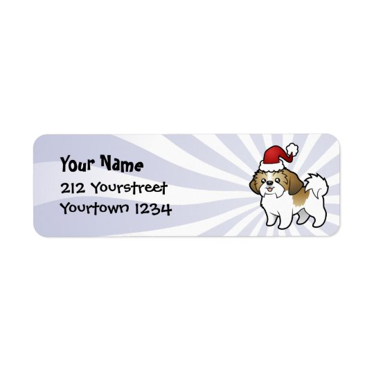 Christmas Shih Tzu (puppy cut)