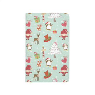 Christmas Shopping List Holiday Symbols Xmas Icons Journal