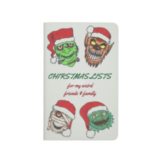 Christmas Shopping List Journal with MONSTERS!