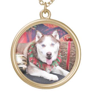Christmas - Siberian Husky - Buddy Necklace