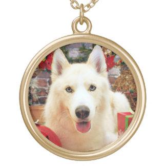 Christmas - Siberian Husky - Teagarden Portraits Necklace