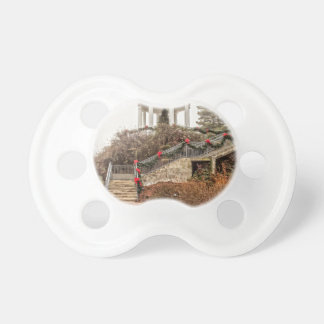 Christmas Sibyl Temple Baby Pacifier