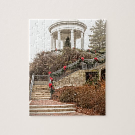 Christmas Sibyl Temple Jigsaw Puzzle